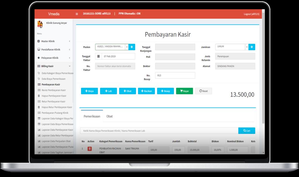 Aplikasi Klinik Kesehatan